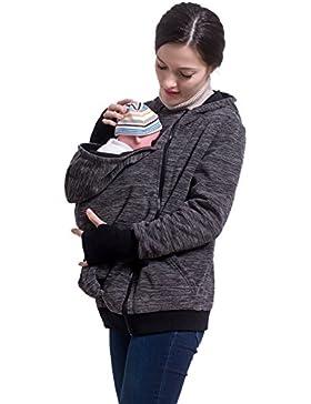 M&M Mymoon 3 in 1 Maglione donna e bambino caldo Mommy Kangaroo Sleeping Bags Felpa per maternità del portare...