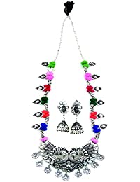 Christmas & New Year Special Collection In Jewellery By Shivay Creative Arts Silver Metallic, Brass, Metal, Long...