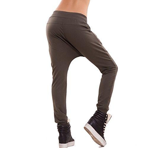 Toocool - Pantalon de sport - Femme vert militaire