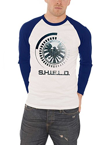 Marvel Agents of Shield Shirt Comics S.H.I.E.L.D Crest offiziell Herren Shield Womens Raglan Hoodie