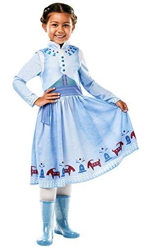 Rubie 's 640766M Offizielles Disney Frozen Anna Kostüm–Olaf 's Frozen Abenteuer, Kinder Medium Jahren, Höhe 116cm, ()