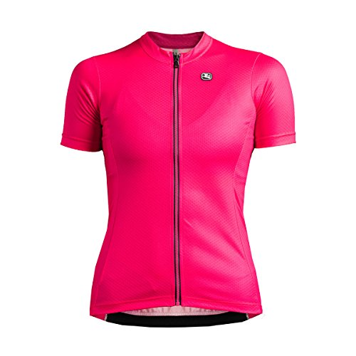Fusion Radtrikot (Giordana SS18 Fusion Damen Fahrradtrikot. Kurzarm Jersey - Pink with Light Pink Accents GICS18-WSSJ-FUSI-PINK Gr.XL)