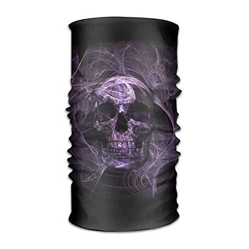 Unisex Smoke Day Of The Dead Skull Multifunction Changed Headwear Headscarf Bandanas - Pacific Twill Shirt