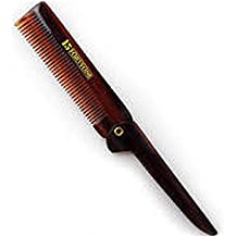 1541 London Folding Pocket Comb with Clip (BC6) by 1541 London