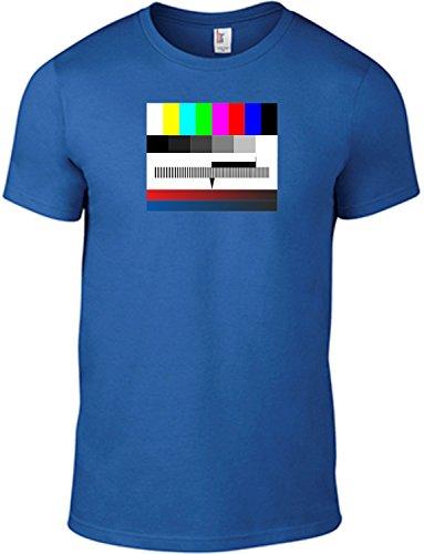 T-Shirt Testbild / Motivshirt / Funshirt / 6 Farben / S-XXL (Blau L)