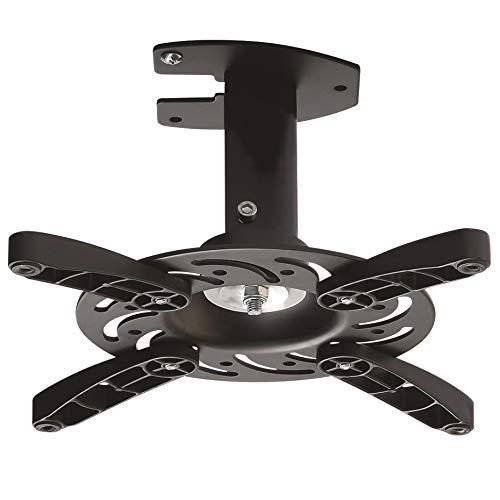 NEG Profi Beamer-/Projektor Deckenhalterung Beamis101B (schwarz) schwenkbar, neigbar, drehbar (universal anpassbare Befestigung) und bis 15kg belastbar