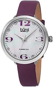 ساعة كوارتز عملية كاجوال بشاشة انالوج للنساء من بورجي