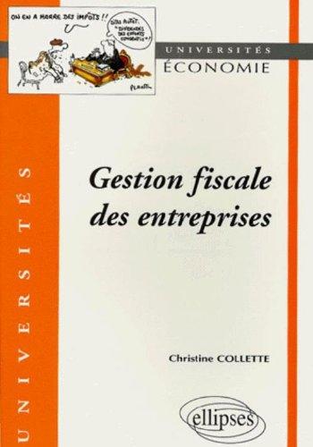 Gestion fiscale des entreprises