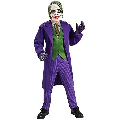 Rubies Batman - Disfraz infantil del Joker de la película El caballero oscuro (talla M)