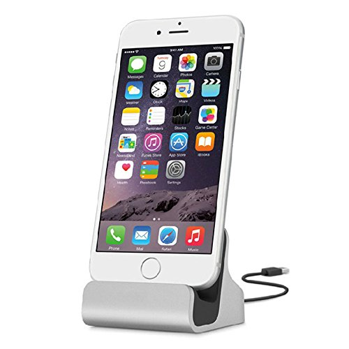 MacBerry Apple iPhone 7 Compatible Docking Station Cradle Charging Sync Dock ( Random Colour)