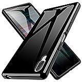 LK Coque pour Sony Xperia L3, Ultra [Svelte Mince] Housse Coque Protecteur Silicone Peau Douce Caoutchouc Gel TPU Résistant à la Rayure - Noir