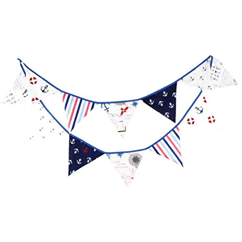 Cotton-Piraten-Flagge Banner Partei Bunting Pennant String Flag Hangin Dekoration Geburtstags-Party Supplies
