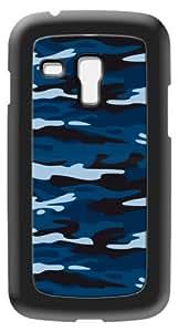 Modelabs Made In France Coque auto cicatrisante en silicone pour Samsung Galaxy S3 Mini Motif Armée Bleu
