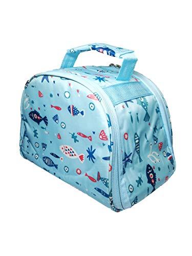 INSTABUYZ 7L BPA Free Double Zipper Lunch Box Bag