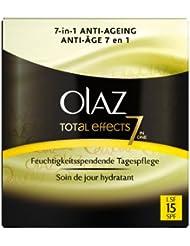 Olaz Total Effects Feuchtigkeitsspendende Tagespflege mit LSF 15, 50ml