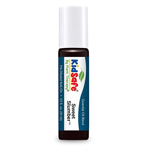 Plant Therapy KidSafe Sweet Slumber Synergy Pre-Diluted Roll-On 10 mL (1/3 oz) 100% Pure, Therapeutic Grade