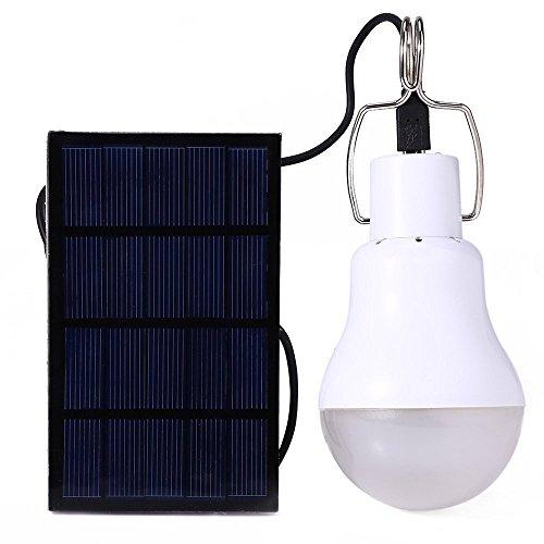 GreeSuit solare lampada LED portatile della di lanterna principale alimentata solare con il pannello solare per l'illuminazione di pesca della tenda da campeggio esterna di hiking