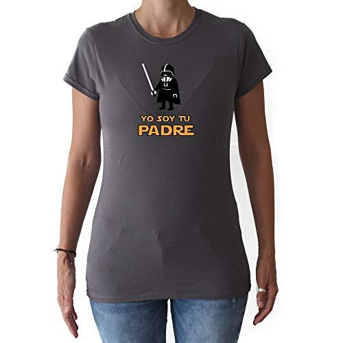 GAMBA TARONJA YO Soy TU Padre - Camiseta - Chica - Star Wars - Darth Vader