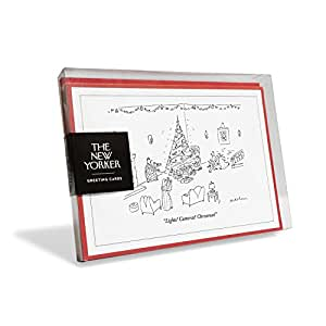 The New Yorker Cartoon Lights Camera Christmas Holiday Cards Box Of 8 Amazon In Office Products Audra lee and josh jarboe are your hosts for an hour of classic christmas cartoons. amazon in