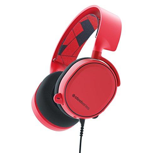 Keyboard Arctis 3 Gaming-Headset (Zertifiziert generalüberholt) Solar Red