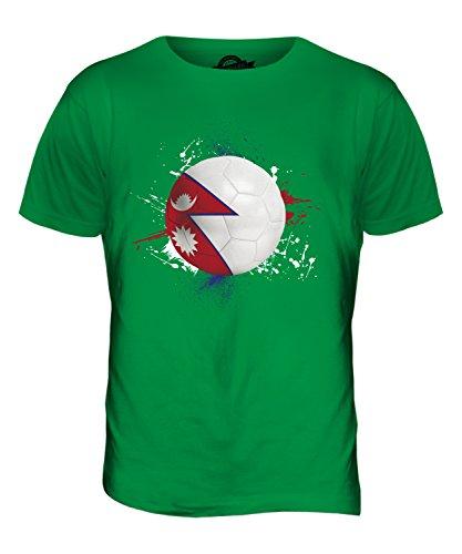 CandyMix Nepal Fußball Herren T Shirt Grün