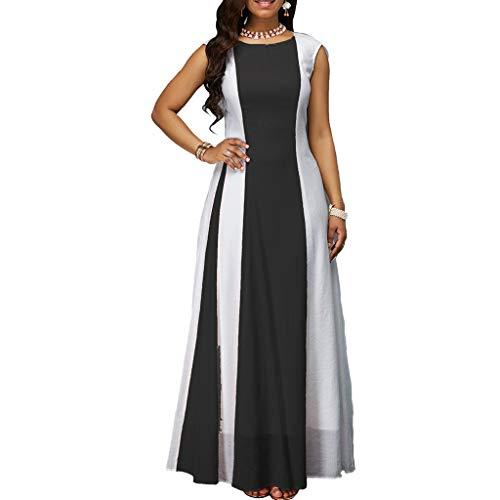 Shadow-plus-kit (FeiXing158 Sommerkleider Fashion Womens Sexy Sleeveless Plus Size Langes Kleid Sommerkleid Elegante Kleider von Women Clothing on)