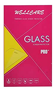 LAVA IRIS V2 2.5D CURVED Tempered Glass Screen Protector Ultra Clear,Anti-Scratch,Anti-Fingerprint-By Wellcare