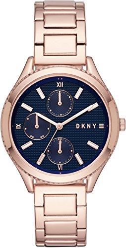DKNY Femme Analogique Quartz Montre avec Bracelet en Acier Inoxydable NY2661