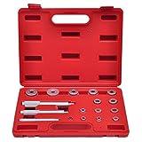 Festnight Lager Treibsatz 17-teilig Druckstücksatz Lager Montage Werkzeug