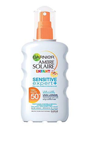 Garnier Ambre Solaire Sensitive Expert+ Enfant Spray Protecteur FPS 50+ 200 ml