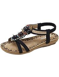Mujer Verano Elástico Comfort Ligero Zapatos de Casual talla UK 3 MtoTZNcov