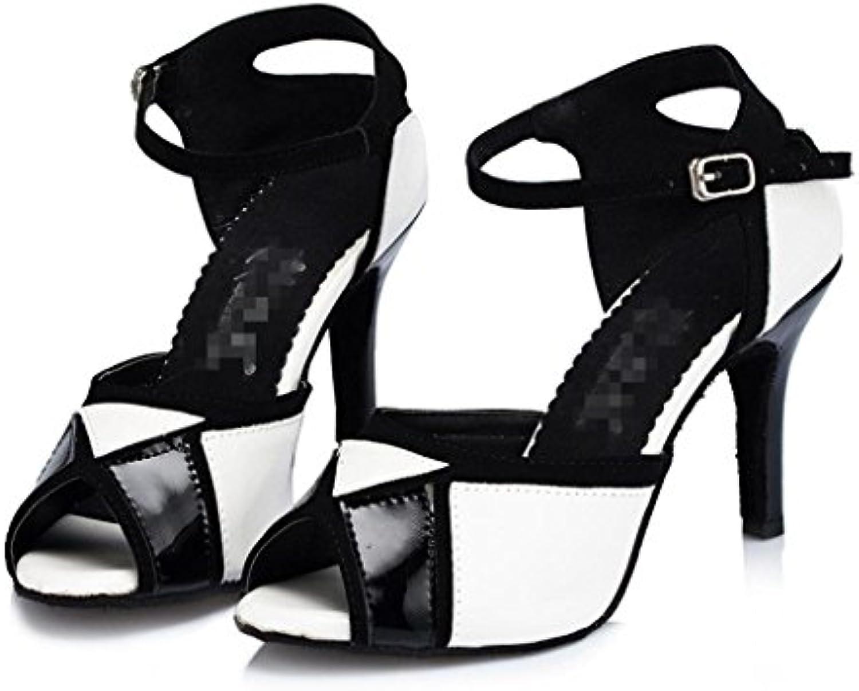 les chaussures de bal latin wgwioo femme danse salsa en en en cuir haut talon tango cheville boucle classique des sandales...b074p4lv7f parent | Up-to-date Styling  1c3c16