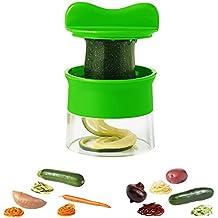 Affettaverdure a spirale per verdure patate, zucchine Spaghetti - Sbucciatore per asparagi pelapatate, cetriolo Schneider, cetrioli pelapatate, carota grattugia, verdura pialla