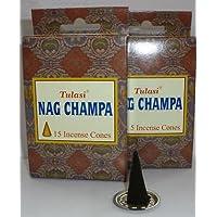 Räucherkegel Nag Champa von Tulasi - 12 Stk. preisvergleich bei billige-tabletten.eu
