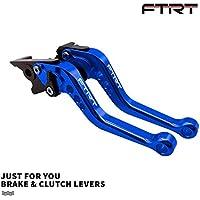 FTRT Palancas embrague de freno para Yamaha MT-07/FZ-07 2014-2018, MT-09/FZ-09 2014-2018, FZ6R 2009-2015, FZ1 FAZER 2006-2015,XSR 700/900 2016-2018,Azul