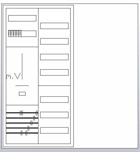 ABN S27ZR110 Zählerschrank 3Pkt 1Z 1V, HLAK 4015153675643