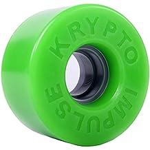 Kryptonics Roller Impulse Ruedas, Verde, 62 mm