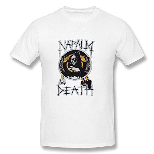 Boys Artist Slim Fit Napalm Death Shirt XXLarge