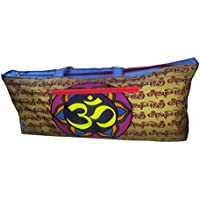 Orgner Multipurpose Large Yoga Mat Bags / Sports Gear Bags . Design : Real Sound of the Universe - Om Symbol