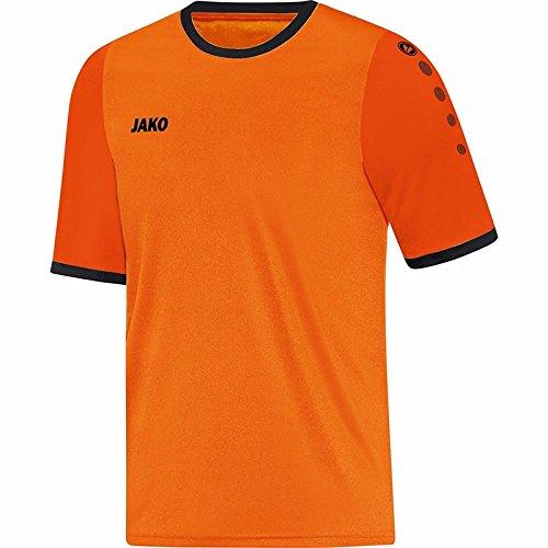 JAKO Trikot Leeds Kurzarm, Größe:116, Farbe:Neonorange/orange/schwarz