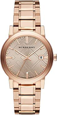 BURBERRY BU9034 For Women Analog, Dress Watch, Stainless Steel