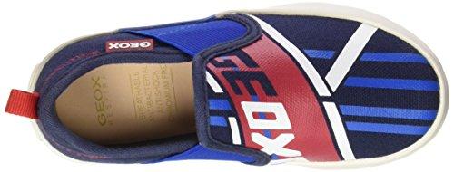 Geox Kiwi P, Sneakers Basses Garçon Bleu (Navy/Royalc4226)