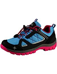 McKinley Niños Botas Multifunción Maine aqb Marina Dark/Red/Blue, ANTHR.BLUE L./PINK