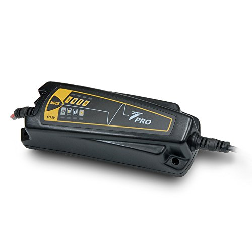 Auto7 708909 Caricabatteria 4A 12V - 0,8A 6V - prodotto al 100% automatico, batteria 1,2Ah a 120Ah