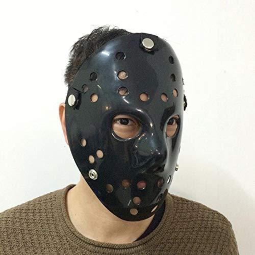 Kostüm Jason Hunde - Diamoen Halloween Weihnachten Masquerade verdickte Jason Party Horror-Maske