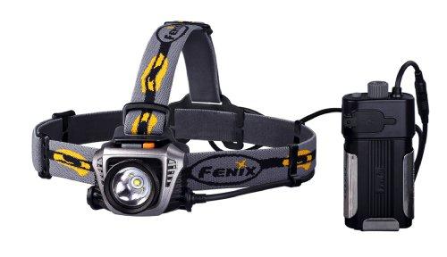 Fenix HP30 - Linterna (Cinta, Negro, Gris, Amarillo, Aluminio, De plástico, LED, 50000h, 900 lm)
