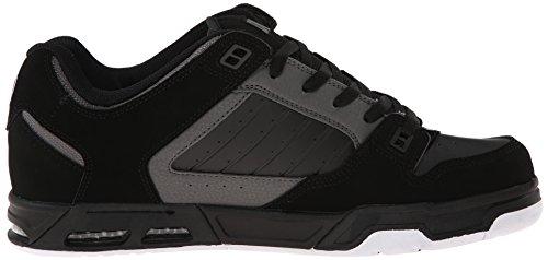 Dvs (Elan Polo) Militia Heir, Skateboard Homme Schwarz (Black/Grey Nubuck)