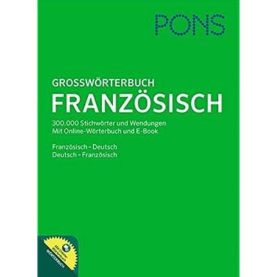 Pons Großwörterbuch Französisch