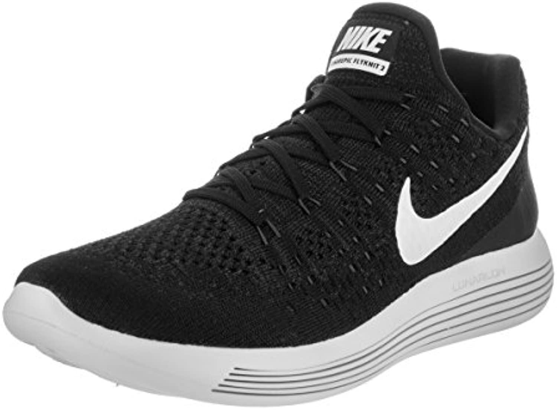 Zapatillas de running Nike LunarEpic Low Flyknit 2 para hombre NEGRO / BLANCO-ANTRACITA 14.0