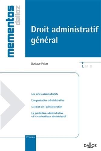 Droit administratif général - 25e éd.: Mémentos